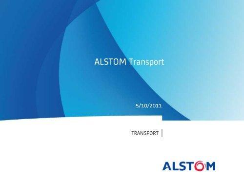 ALSTOM Transport - Railway Days 2013