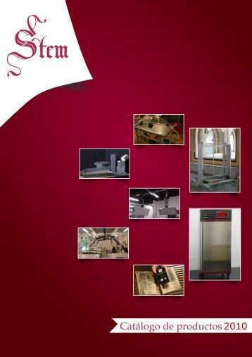 descargar el catálogo completo de todos nuestros productos - Stem