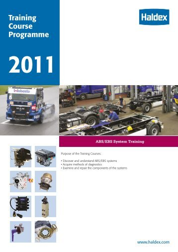 Training Course Programme - Haldex
