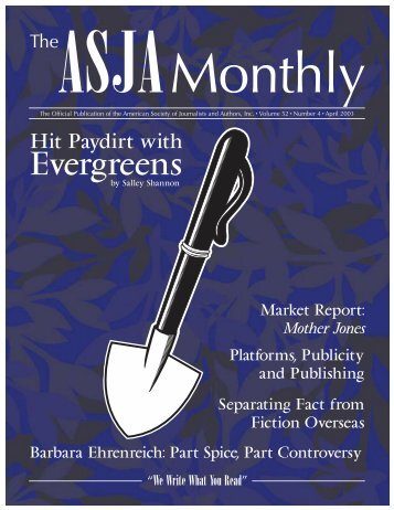 April 2003 - The ASJA Monthly