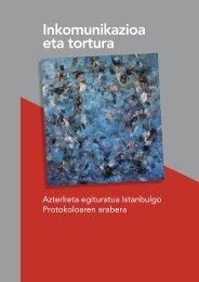 Informe-Incomunicacion-tortura-Analisis-protocolo-Estambul-Eusk