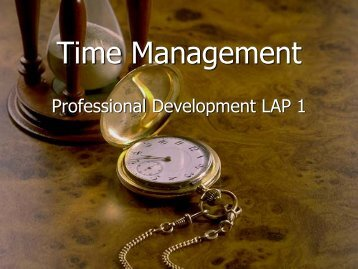 Time Management PDF