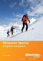 Neuigkeiten und Angebote Skitouren Spezial - Globetrotter