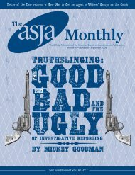 September 2008 - The ASJA Monthly