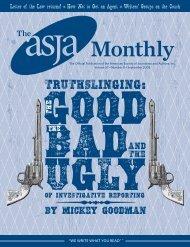 September 2008 - The ASJA Monthly