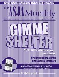 September 2003 - The ASJA Monthly