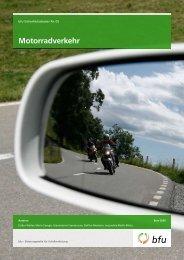 Motorradverkehr - Fonds für Verkehrssicherheit FVS