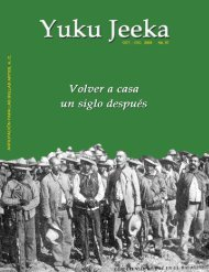 Revista Yuku Jeeka n° 57 - Dirección General de Vinculación Cultural