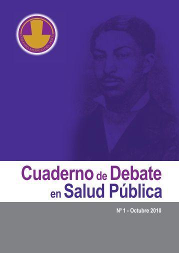 Cuadernode Debate - Bvs.minsa.gob.pe - Ministerio de Salud