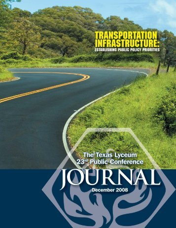 Transportation Infrastructure: - Public Interest Network