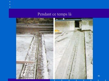 EXEMPLE DE CHANGEMENT D ' APPAREILS D ' APPUI