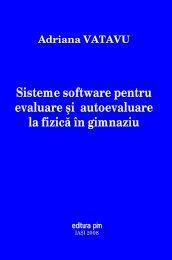 Sisteme software pentru evaluare şi autoevaluare la ... - PIM Copy