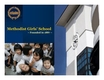 Why SBC? - Methodist Girls' School
