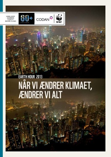 Earth Hour 2013-rapport - WWF