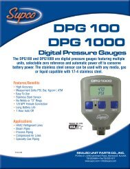 DPG100/1000 - Supco