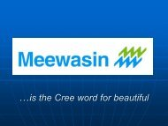 Establishment and Restoration at Meewasin Valley Authority
