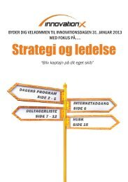 Folder til 31.januar_.indd - Innovation X