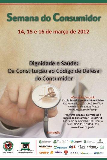 Folder Semana do Consumidor 2012.2.cdr - Ministério Público do ...