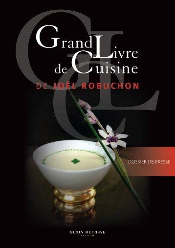 Grand Livre de Cuisine - Alain Ducasse