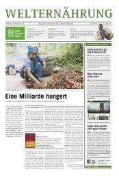 Welternährung - Die Welt verändern - Deutsche Welthungerhilfe