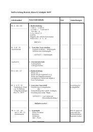 Stoffverteilung Deutsch, Klasse 8, Schuljahr 06/07 Arbeitsmittel ...