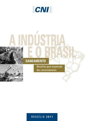 A indústria eo Brasil: Saneamento - CNI