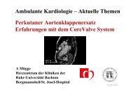 Erfahrungen mit dem CoreValve System Prof. Dr ... - Ww-kardio-do.de