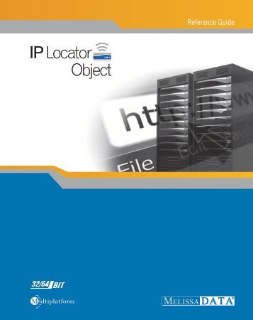 IP Locator Object Reference Guide - Melissa Data