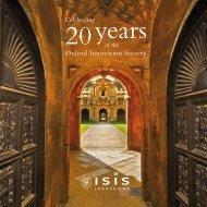 Oxford Innovation Society - Isis Innovation