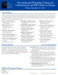 Presenting and Defending Uninsured, Underinsured, and PIP ... - Page 3
