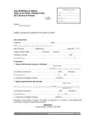 Segnalazione certificata di inizio attività per l'attività di cantiere