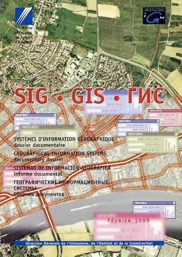 Systèmes d'information géographique. Dossier ... - CiteSeerX