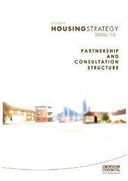 Housing Strategy Partnership and Consultation ... - Croydon Council