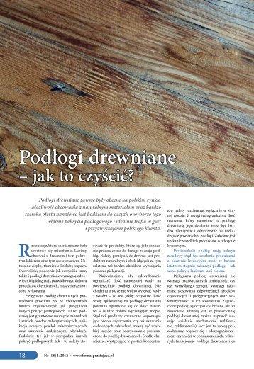 Podłogi drewniane - jak to czyścić?