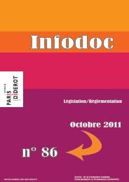 n° 86 - Université Paris Diderot-Paris 7