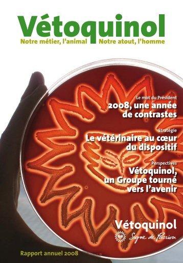 Rapport annuel - Vétoquinol