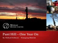 Punt Hill – One Year On - SA Explorers