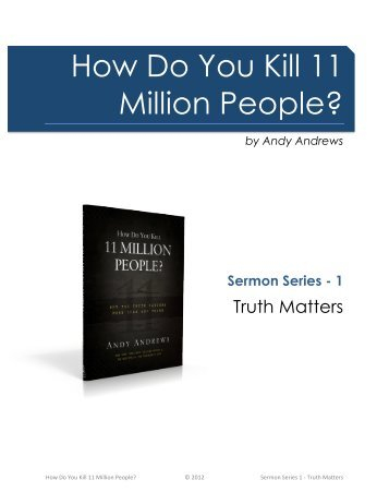 Truth Matters - Andy Andrews