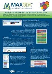Download the PDF - MaxQDA