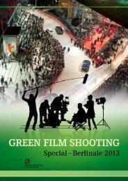 Green Film ShootinG - bei der Film Commission