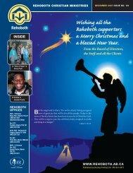 7573 Rehoboth Newsltr.indd - Rehoboth Christian Ministries