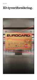 ID-tyveriforsikring. - Eurocard