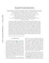 arXiv:cond-mat/0605430 v1 17 May 2006