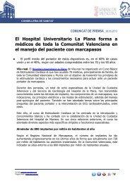 El Hospital Universitario La Plana forma a médicos de toda la ...