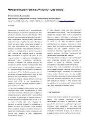 analisi dinamica fem di sovrastrutture rigide - I blog di Unica ...