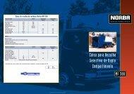Caixa para Recolha Selectiva de Duplo Compartimento MF 300