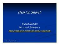 Desktop Search - Courses
