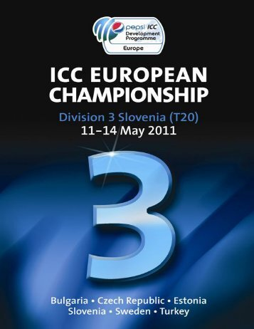 Slovenia Brochure Template - 2011 FINAL version 2 - CricketEurope