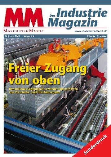 Industrie Magazin - Günther Wensing