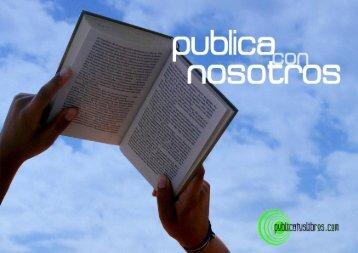 publica con nosotros.indd - Publicatuslibros.com